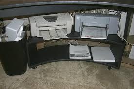 Under Desk Printer Stand With Wheels Under Desk Printer Stand Ideas U2014 All Home Ideas And Decor Under
