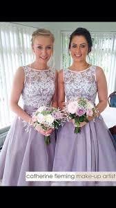 white and lilac short bridesmaid dresses 2016 cheap tea length