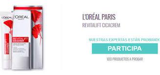 Prueba L Oreal Paris Revitalift Cicacrem Probar - prueba gratis revitalift cicacrem muestras gratis y chollos
