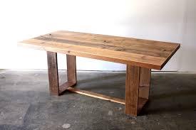 Modern Loft Furniture by Reclaimed Wood Dining Table Modern Industrial Desk Loft