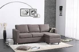Abbyson Sectional Sofa Abbyson Living Bedford Gray Linen Convertible Sectional Sofa
