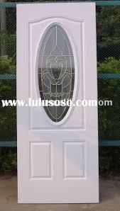 Steel Exterior Doors With Glass Steel Front Door With Glass Handballtunisie Org