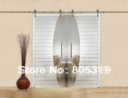 Sliding Door Wood Double Hardware by Modern Interior Glass Sliding Barn Door Hardware Double Sliding