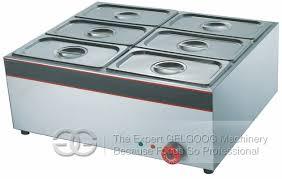 electric buffet food warmer bain marie ggf 6v