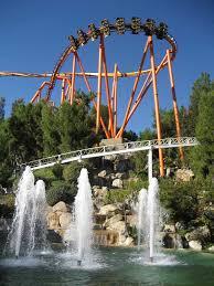 Six Flags Locations California Santa Clarita Attractive Location In Los Angeles County