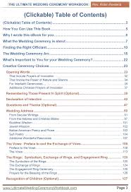 program for wedding ceremony template the ultimate wedding ceremony workbook
