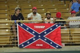 Giant Confederate Flag A U0027trump 2016 U0027 Confederate Flag Made Its Debut And Exit At