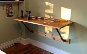 diy wall mounted standing desk decorative desk decoration