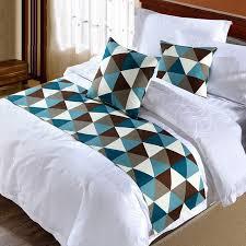 design modern bed runner from cotton tips for choosing best bed