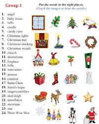 christmas vocab worksheet christmas themed activity worksheets
