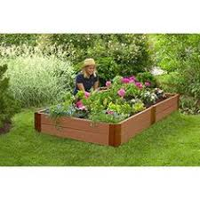 white vinyl raised garden bed 2 pack costco 189 99 gardening