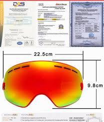 motocross goggles for glasses locle ski goggles double lens anti fog uv 400 ski glasses men