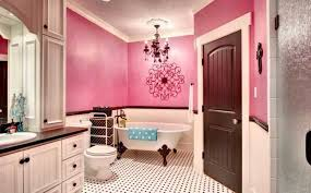 Awesome Bathroom Designs Colors Master Bathroom With Pink And White Color Combination Awesome