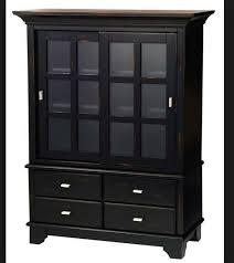 Wooden Storage Closet With Doors Black Storage Cabinet With Doors Exclusive Ideas Cabinet Design