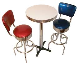 Bar Table And Stool Pub Table Sets Retro Bar Kitchen Restaurant Diner Usa