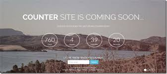 6 coming soon counter templates for blogger 2014
