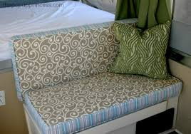 How To Clean Couch Cushion Foam Reupholstering Your Camper Cushions The Pop Up Princess
