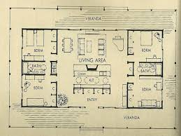 vintage house plans 1960s homes mid century architecture