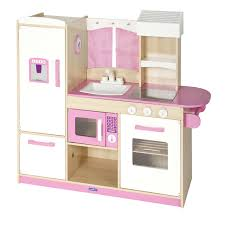 interesting kitchen play sets design with turquoise painted wooden