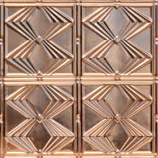 Ornate Ceiling Tiles by Solid Copper Ceiling Tiles Actual Aged Copper Tiles Authentic