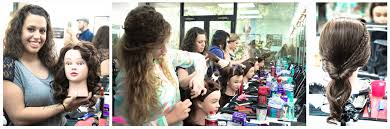 makeup school in houston hair styling class