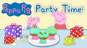 peppa pig party peppa pig party time app for kids