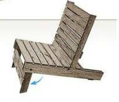 How To Make An Armchair How To Make An Easy Pallet Chair Http Diyhomesweethome Com How