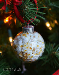 popcorn in a ornament what