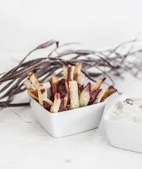 douce cuisine frites de patate douce blanche cuites au four