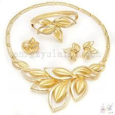 fashion jewelry necklace wholesale images Big fashion jewelry necklaces gold plated african jewelry sets jpg