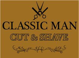 classic man cut u0026 shave barbershop haircuts barber shops