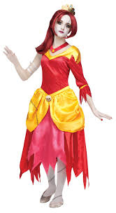 princess halloween costumes for girls zombie belle princess kids costume mr costumes