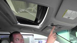 2011 toyota sienna power tilt and slide moonroof how to by