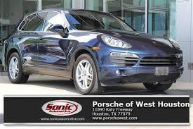 used porsche cayenne houston certified 2011 porsche cayenne for sale in houston tx stock