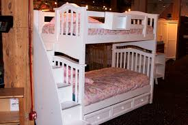 Used Bunk Beds Charming White Bunk Beds With Stairs Invisibleinkradio Home Decor