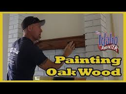 How To Paint Oak Cabinets by How To Paint Grainy Wood Using Grain Fillers To Paint Oak