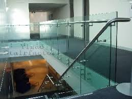 Glass Banisters Glass Balustrade Guardrails Banisters Balusters Columns Stainless