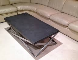 Cement Coffee Table Amazing Cement Coffee Table Concrete Mobius Coffee Table
