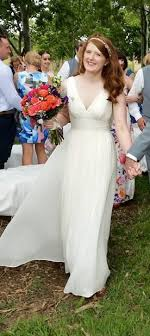 wedding dress j crew j crew marlowe preowned wedding dress on sale 66