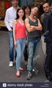 cast with director nuran david calis and actors nora von
