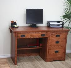 Small Oak Computer Desk Reliable Small Oak Desk With Drawers U2039 Htpcworks Com U2014 Awe