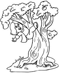 Cartoon Pictures Of Trees 545415 Children S Tree Coloring Pages