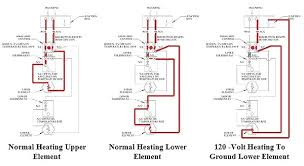 wiring diagram dual element water heater water heater wiring