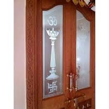 Glass Designs For Pooja Room Doors