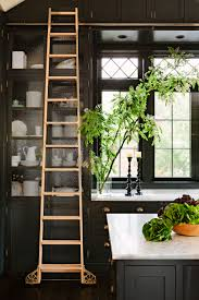 library house jessica helgerson interior design kitchen with library ladder