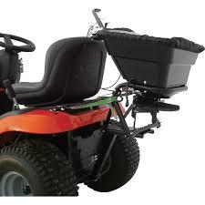 yard tuff lawn tractor spreader u2014 80 lb capacity model as