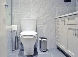 White Carrera Marble Bathroom - stunning black and white marble tile bathroom ceramic wood tile