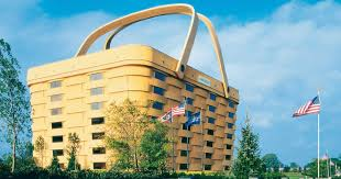 longaberger building picnic basket shaped office building is about to go under the hammer