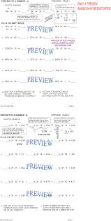 Mixed Numbers To Improper Fractions Worksheet Percent Worksheets By Math Crush