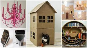 20 ingeniously creative cardboard projects to realize at home